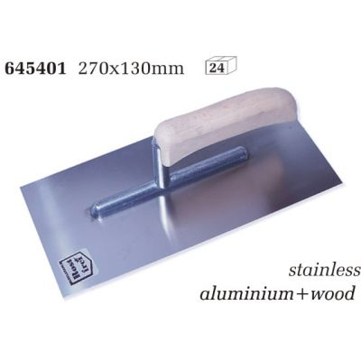 Drisca Inox Maner Lemn / L[mm]: 270; B[mm]: 130 SOK