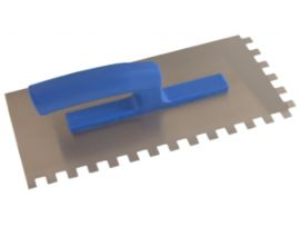 Drisca Zimtata cu Maner de Plastic / 280 x 130 Z= 10 mm SOK