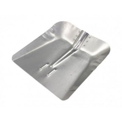 Lopata Patrata pt Zapada din Aluminiu/L 350 x 340; G[mm]:1.5 Sok