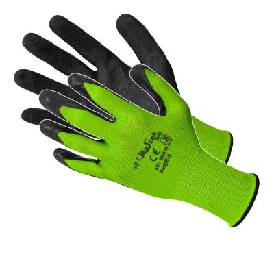 Manusi Nitril Latex Verde-Negru 11'Rwnyl B+S11 Sok