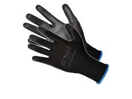 Manusi Poliuretan Tricotate Negre Pl