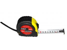 Ruleta cu Protectie de Cauciuc / 7.5M x 25mm SOK
