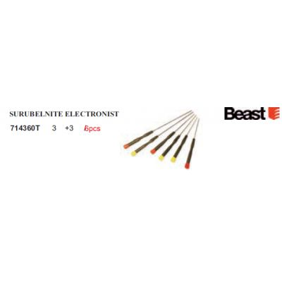Surubelnite Electronist (6 buc/set) Beast