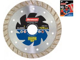 Disc Diamantat Universal (Turbo) 125x2.2mm Benman