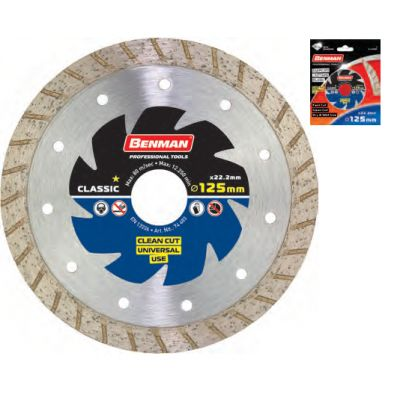 Disc Diamantat Universal (Turbo) 125x2.2mm Benman