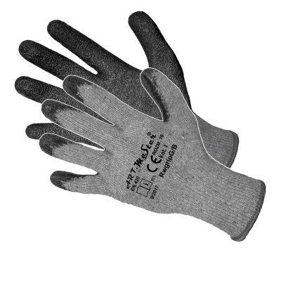 Manusi Latex Tricotate Gri eko / L[mm]: 250 sok pl