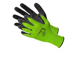 Manusi Nitril Latex Verde-Negru 10'Rwnyl B+S10 Pl