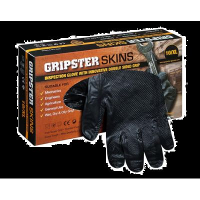 Manusi Unica Folosinta Gripster Negre XL (50 buc/cutie) Pl