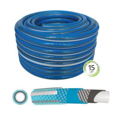 Furtun Armat PROFESSIONAL+ BLUE -6 straturi/D[inch]:1/2;L[m]:25