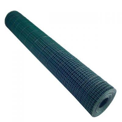 Plasa Sarma Sudata Plast.Groasa/13x13mmx1.5mm;1,2Mx12M~17kg-SOK
