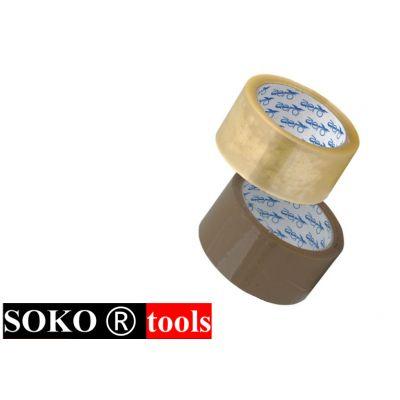 Banda Adeziva / B[mm]: 48; L[m]: 50; Tip: transparent Sok