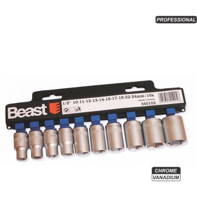 Chei Tubulare cr-vn (10 buc/set) / 10-24 Beast