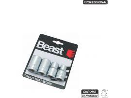 Chei Tubulare cr-vn (4 buc/set) / 10-13-17-19 x1/2 Beast