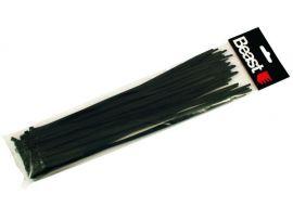 Colier de Plastic Negru 4.7X300mm (50pcs) Beast