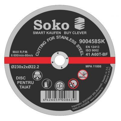 Disc Abraziv A36 230X2.5 Soko
