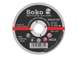 Disc Abraziv A60 125X1.6 Inox SOK