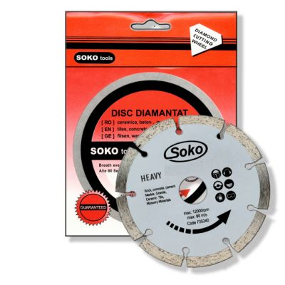 Disc Diamantat (Uscat) / D[mm]: 125 profi RED SOK